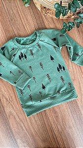 Blusa Verde Folha - Unissex