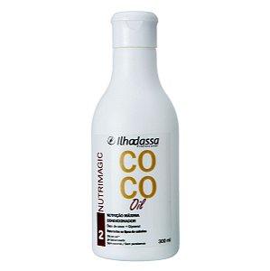 Condicionador Especial Óleo de Coco Nutrimagic Alta Nutrição 300ml - Ilhadassa