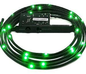 Cabo de LED NZXT 2m na cor verde