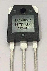 Transistor FTW20N50A MOSFET