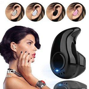 Mini Fone de Ouvido Intra Auricular Bluetooth 4.1 / Fone de Ouvido Esportivo