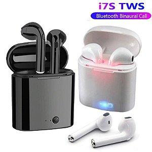 Fone de Ouvido/Headset TWS i7S sem Fio BT / Estéreo para iPhone/Android