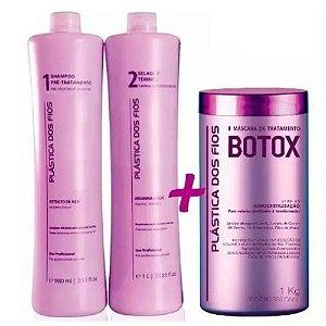 Kit Progressiva + Botox - Plástica dos Fios