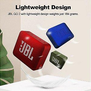 Caixa de Som JBL GO2 com Bluetooth