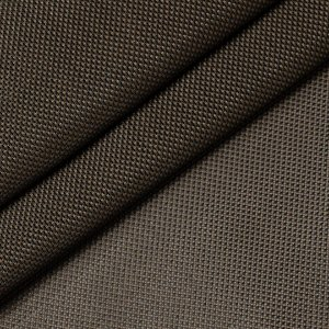 TELA 100% PVC COR MARROM C/ PRETO 1/2 METRO