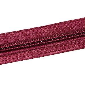 Ziper nº6 - Bordo / Pacote c/ 10m