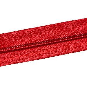 Ziper nº6 - Vermelho