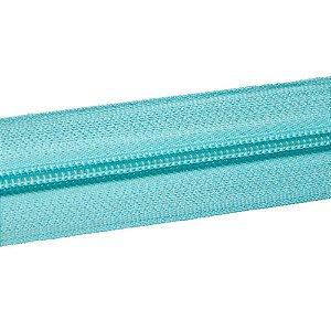 Ziper nº6 - Azul Tiffany / Pacote c/ 10m
