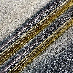 Tecido sintético PU Sienna - Cor Ouro