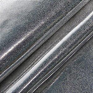 Tecido sintético PU Sienna - Cor Prata