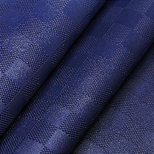 Xadrez Malha- Cor: Azul Marinho