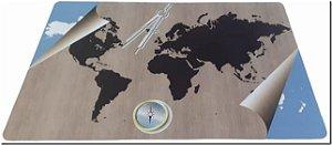 Mouse Pad Gamer Mapa Mundi