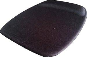 Mouse Pad Ergonômico Retangular Tecido Preto