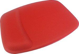 Mouse Pad Ergonômico Retangular Tecido Vermelho