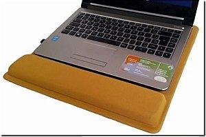 Apoio Ergonomico para Notebook Tecido Preto