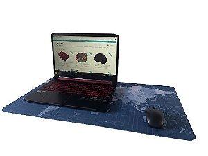 Mouse Pad Mapa Mundi 40x70cm