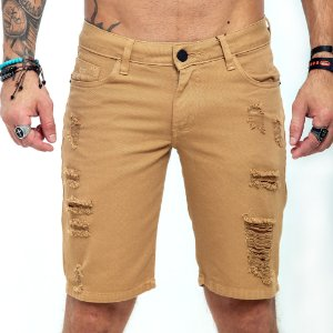 Bermuda Jeans John John mostarda