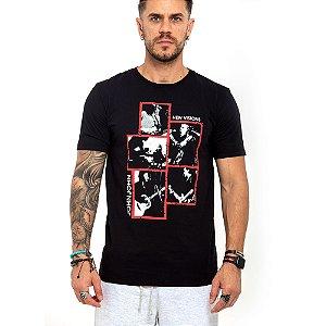 Camiseta John John preta rock