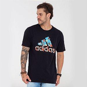 Camiseta Adidas 8-bits preta