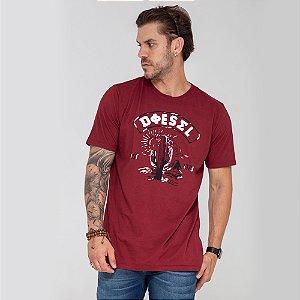 Camiseta Diesel Cactus vermelha