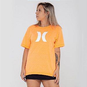 Camiseta Hurley logo laranja