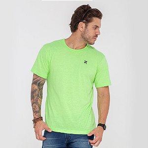 Camiseta Hurley verde logo mini