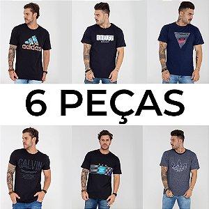 Atacado 6 camisetas de R$59,90 por R$42,00 cada