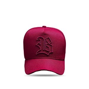Boné Snapback Basic All Wine Logo Contour