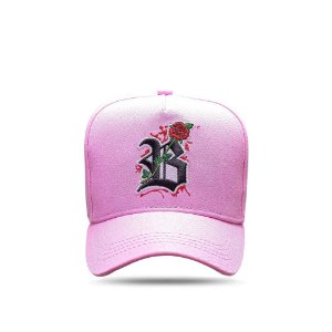 Boné Snapback All Rosa Clear Roses