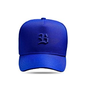 Boné Snapback Logo Basic All Blue Royal