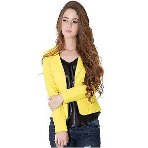 Blazer Fashion Amarelo
