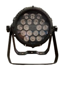 Par Led 18x18w Rgbwauv 6 in 1 Full Color Outdoor