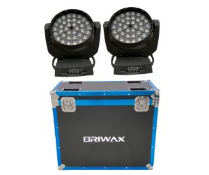 Moving Led Wash 36x12w Rgbw Zoom (Par no case)