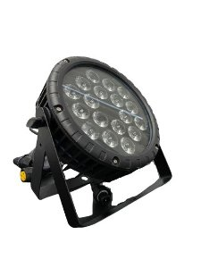 Par Led 18x15w Rgbwa Slim IP-65