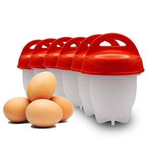 Forma De Silicone eggletes Para Cozinhar Ovos 6 peças