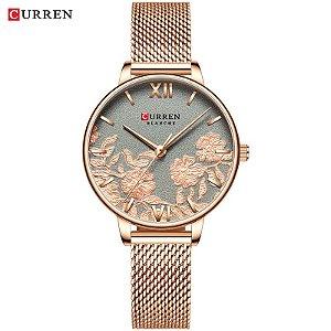 Relógio Feminino Quartz Rose