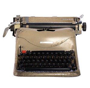 Máquina de escrever antiga Lexikon