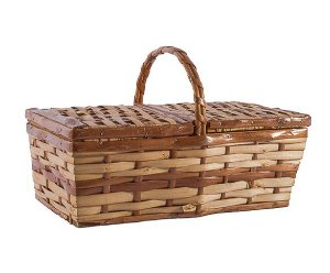 Cesta picnic natural