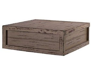 Caixa quadrada cinza