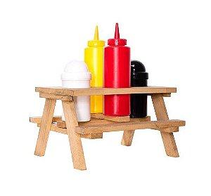 Porta molho picnic