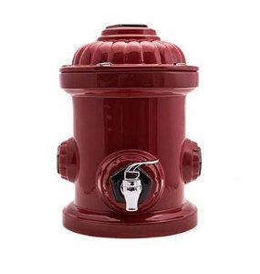 Dispenser hidrante vermelho