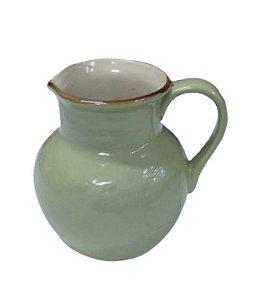 Jarra cerâmica verde