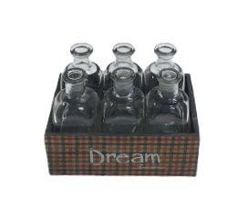 Caixa Dream com 6 garrafas