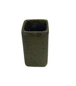 Vaso Feng verde M