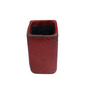 Vaso Feng vermelho M