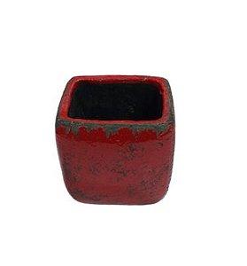 Vaso Liang vermelho G