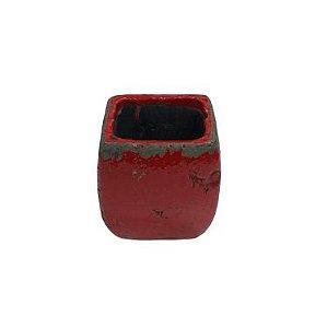 Vaso Liang vermelho M