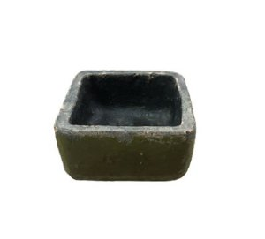 Vaso Liang quadrado verde