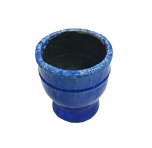 Vaso anfora azul G