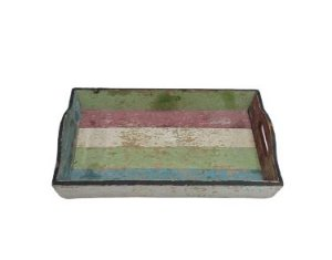 Bandeja madeira color rustica M